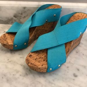 Montego Bay Club | Blue Wedges
